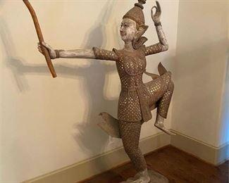 Thai Dancer Statue