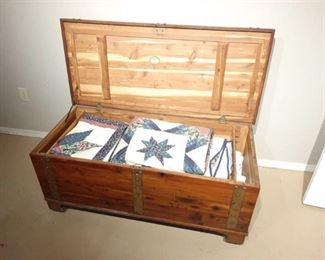 Cedar Chest and Contents