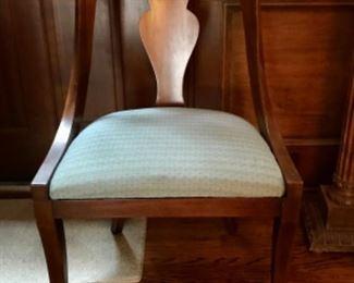 6 Henredon chairs