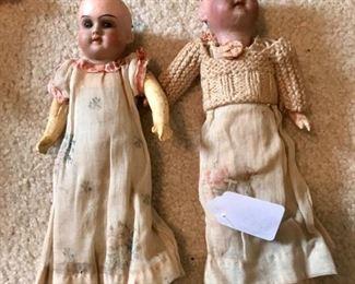 German bisque dolls