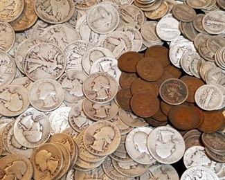 US Coin Collection 1859-1964