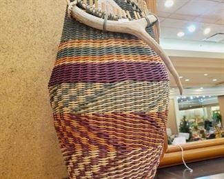 Artist 'hand made' baskets