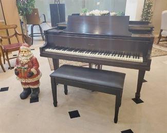 Vintage Monarch 5' Baby Grand Piano