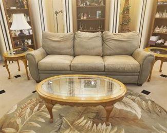 sofa & end tables