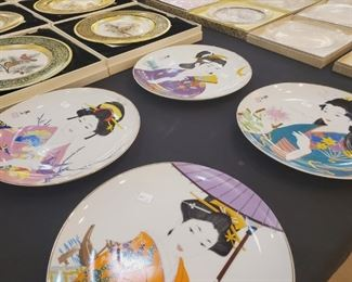 Japanese collector plates