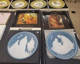 Love these Nativity Plates