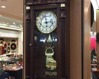 Howard Miller eight day clock - very nice!