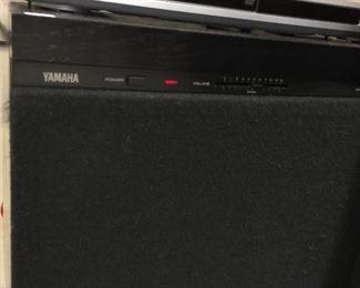 Yamaha natural sound sub speaker.