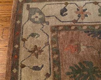 9'x12' 100% wool handmade rug