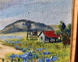 On Sale Now  - 50% Off - $90        ACCEPTING OFFERS VIA TEXT ON THIS ITEM 225.287.1309                                     Irene Klein, is a listed artist from Texas who was known for painting floral landscapes.  Sweet oil on board.   Purchase online at https://FecitAntiquesAndEstates.net/shop.   Located in Oil Painting.