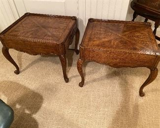 PAIR OF THOMASVILLE TABLES