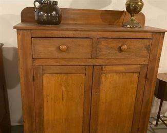 Antique jam cupboard
