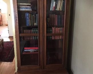 Fabulous Victorian walnut bookcase