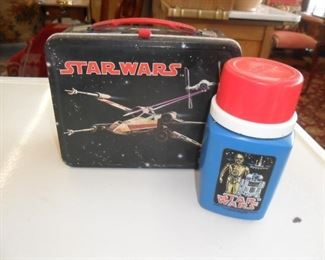 Vintage Star Wars Lunchbox with Thermos