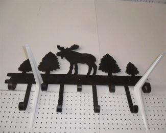 Metal Moose Coat hanger