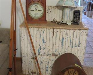1860s Ithaca Double Dial Perpetual Calendar Clock