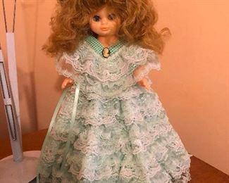 80's hair doll