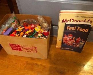 We've got boxes and boxes of promo toys from McDonald's and the like