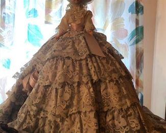 very involved doll