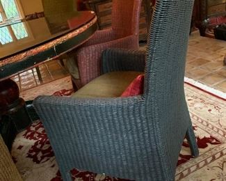Multi-Color Rattan Chairs