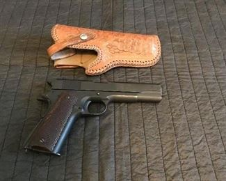 Colt Ithaca 1911 A1 Government issued.