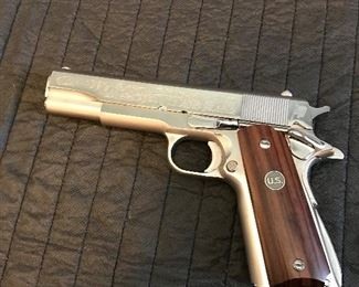 Colt 45 1911 Government model.