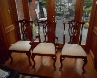 3 of 6 Dining Room Chairs