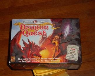 Dungeons and Dragons Dragon Quest Game