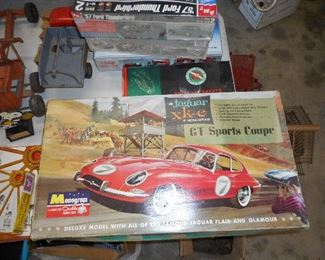 Vintage Model Car (partially built)