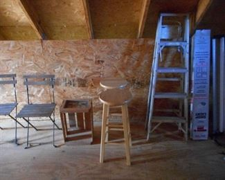 Ladder, Stools, Chair, etc