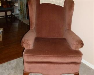 Nice wingback chair