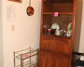 Curio or Bar Cabinet