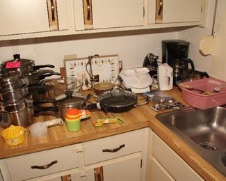 Lusterware Pots and Pans