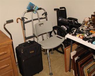 Handicap Items, Shower Seat, Walker, Wheelchair, Canes
