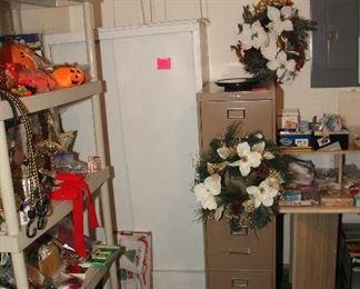 Storage Cabinet, File Cabinet
