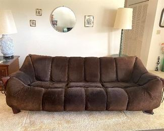 Percival Lafer MP-211 sofa, sold as set with chair $2800