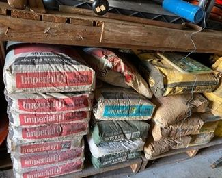 Bags of Plasterboard Compound