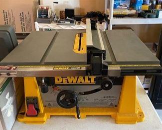 Dewalt Portable Table Saw