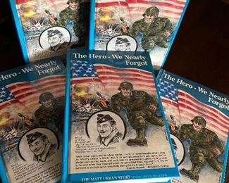 "Matt Urban, ""The Hero - We Nearly Forgot"".  Numerous copies for sale of this biography of the Hometown Hero of Holland"
