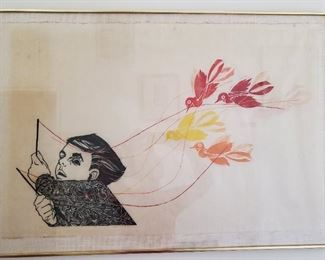 "FREDERIC MARVIN ""The Toy"" (1 of 50 --paper on linen)"