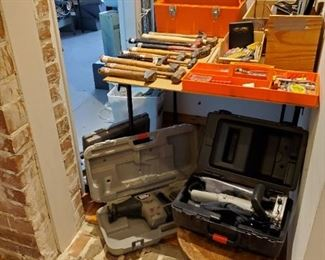 HAND TOOLS, POWER SAWS & PLANER