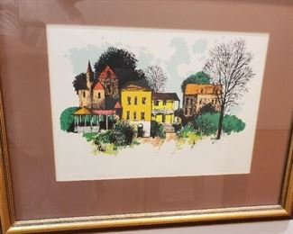 "Herbert Mears ""COUNTRY PLACE"" signed painting"