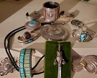 TURQUOISE & STERLING JEWELRY