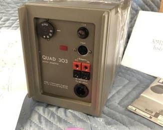 Bulgen UK mini Quad 33-303 stereo power amplifier