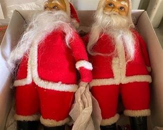 Vintage Santa Dolls