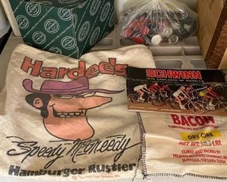 Vintage Hardee's Canvas Bag