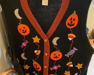 Vintage Ugly Halloween Sweater