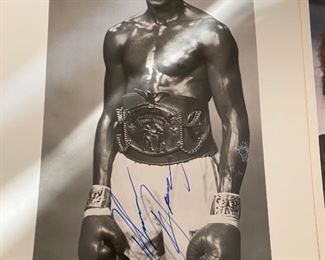Thomas Hearns Photograph