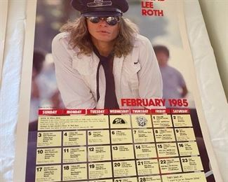 WLLZ Poster with David Lee Roth