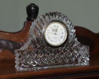 Galway Irish Crystal Desk Quartz Clock